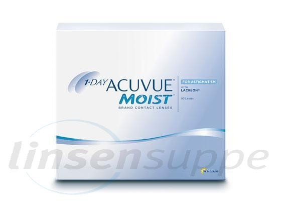 1-Day Acuvue Moist for Astigmatism (90 lentilles)