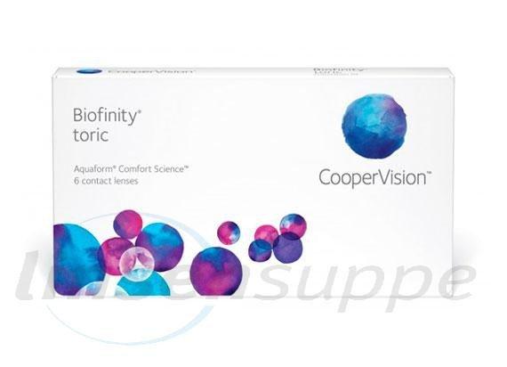 Biofinity Toric (3 lentilles)