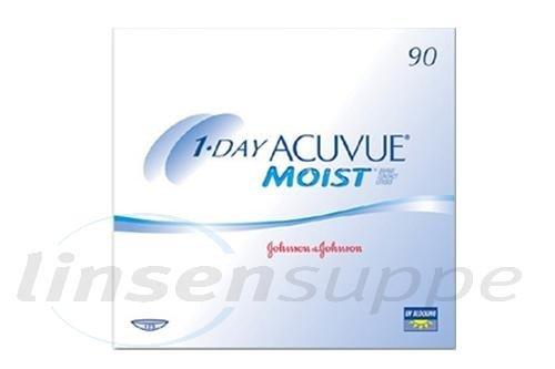 1-Day Acuvue Moist (90 lentilles)