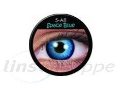 Space Blue (Annuelles) (2 lentilles)