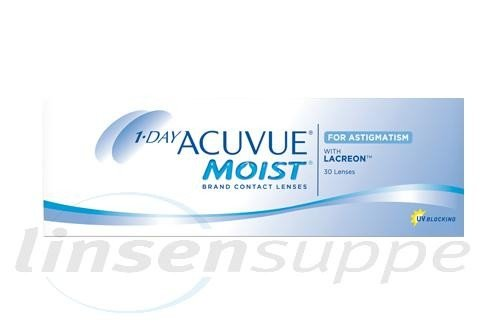 1-Day Acuvue Moist for Astigmatism (30 lentilles)